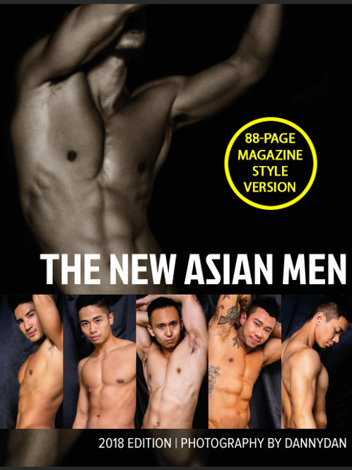 The New Asian Men Photo Book - 2018 Edition - Soft Cover Photo Book