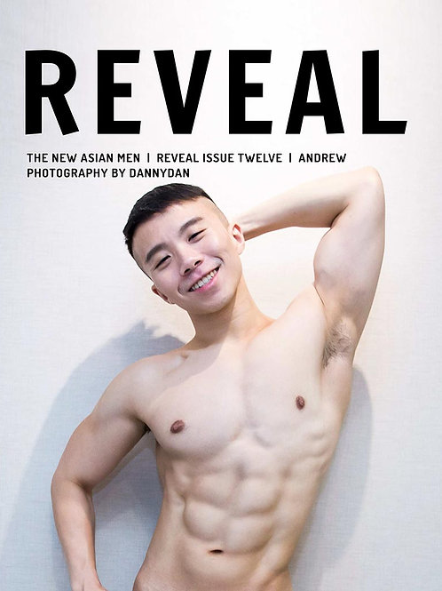 REVEAL Issue 12 - Andrew - Soft Cover Photo Book