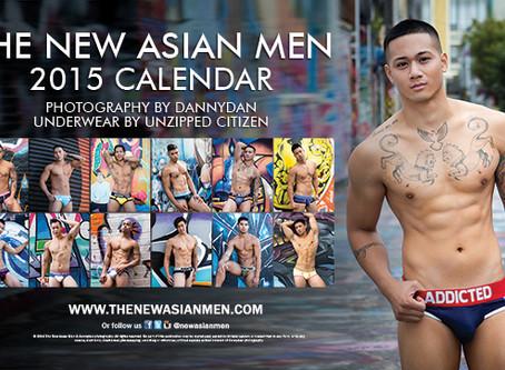 The New Asian Men 2015 Calendar