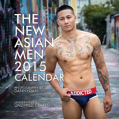 The New Asian Men 2015 Calendar