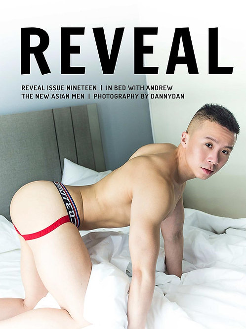 Reveal 19 - In Bed with Andrew - Soft Cover Photo Book
