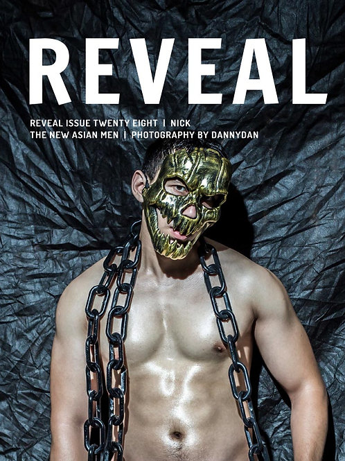 Reveal 28 - Nick - Soft Cover Photo Book