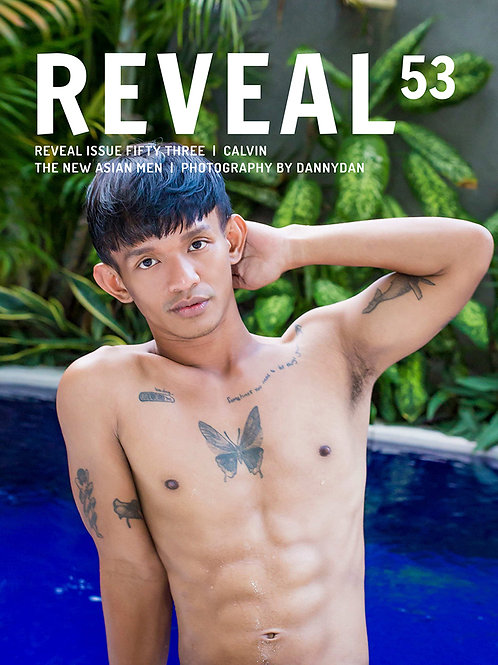 Reveal 53 - Calvin - Soft Cover Photo Book