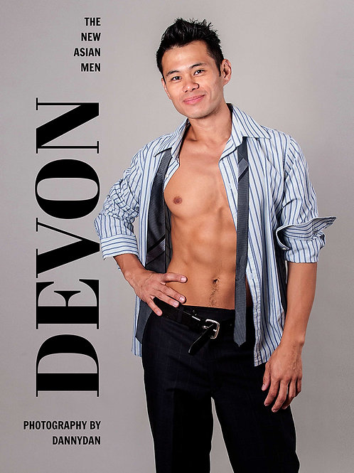 The New Asian Men - DEVON - Soft Cover Photo Book