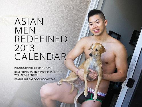 Asian Men Redefined 2013 Calendar