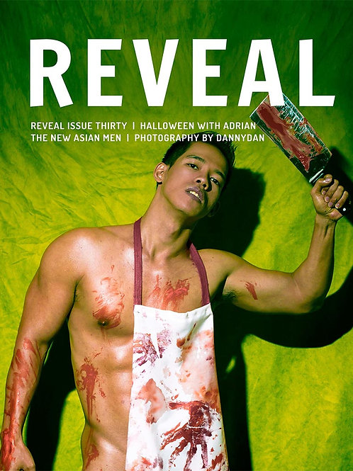 Reveal 30 - Halloween with Adrian - Soft Cover Photo Book
