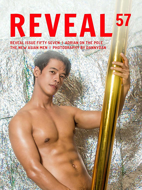 Reveal 57 - Adrian On The Pole - Soft Cover Photo Book