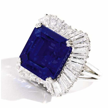Vivid Blue Unheated Burmese Sapphire