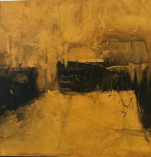 Étude en jaune et noir