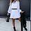 Thumbnail: Vestido feminino curto com transparência