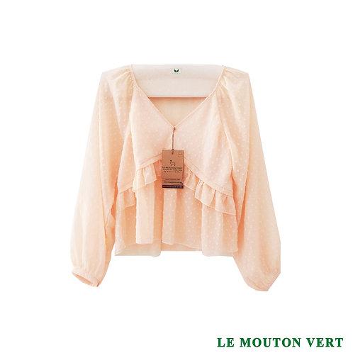 Blusa 2, color damasco