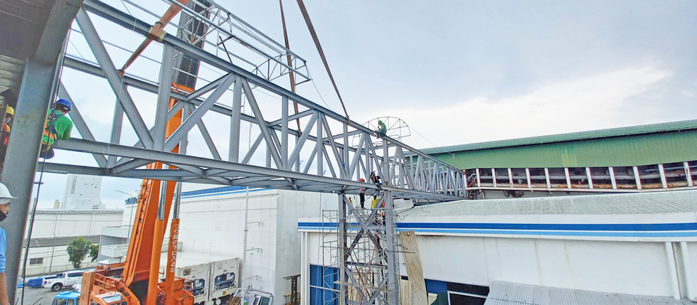Pipe Bridge Erection for Expansion Project