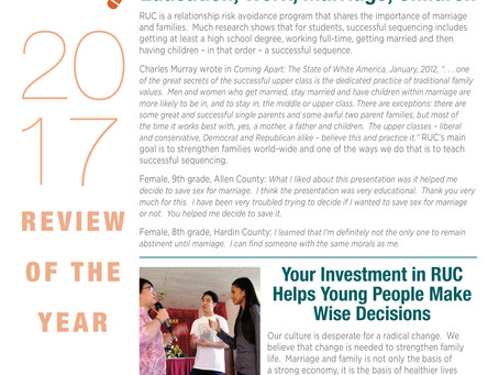 2017  Year in Review Newsletter