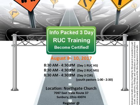 RUC August Training