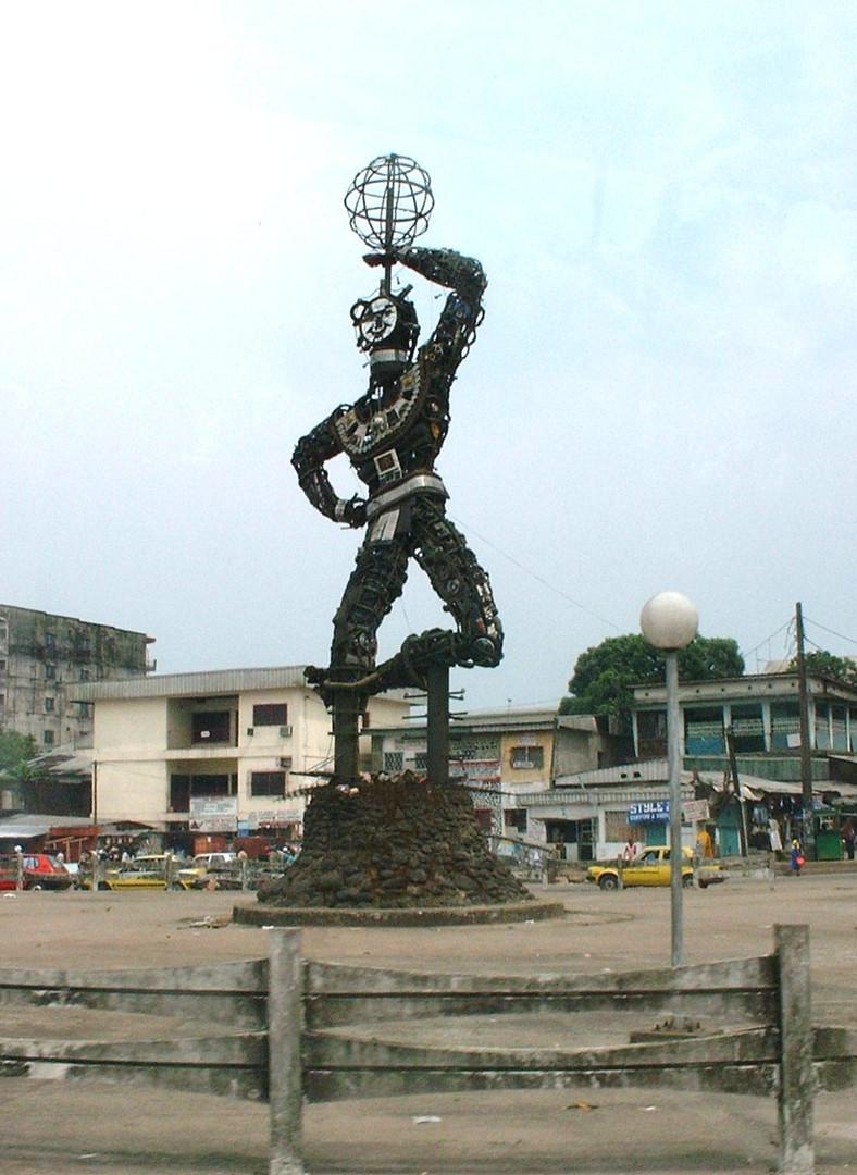 Sculpture Douala