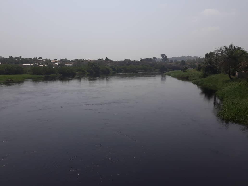 Le fleuve Wouri / Wouri's river