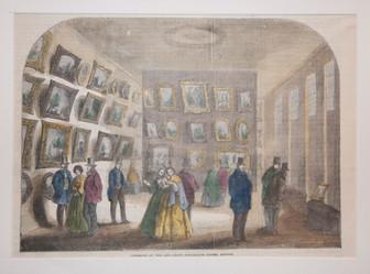 Interior of the Art Union Exhibition Roo