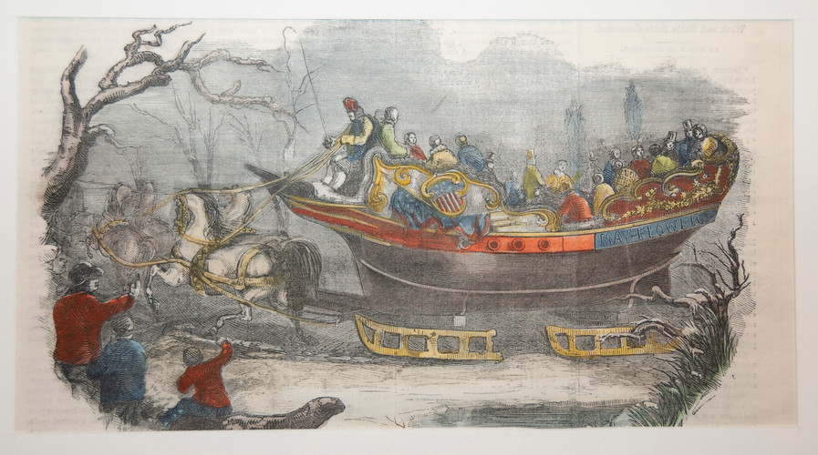 The Mammoth Sleigh Mayflower