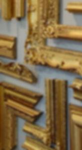 gilded frame selection Guido Frames