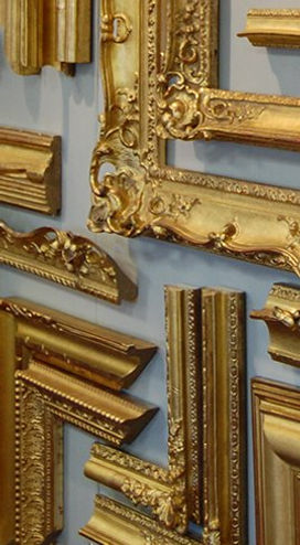 gilded frame selection Guido Frames
