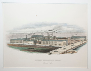 Hinkley Locomotive Works, Boston