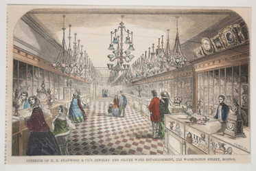 Interior of H.B. Stanwood and Co, Boston