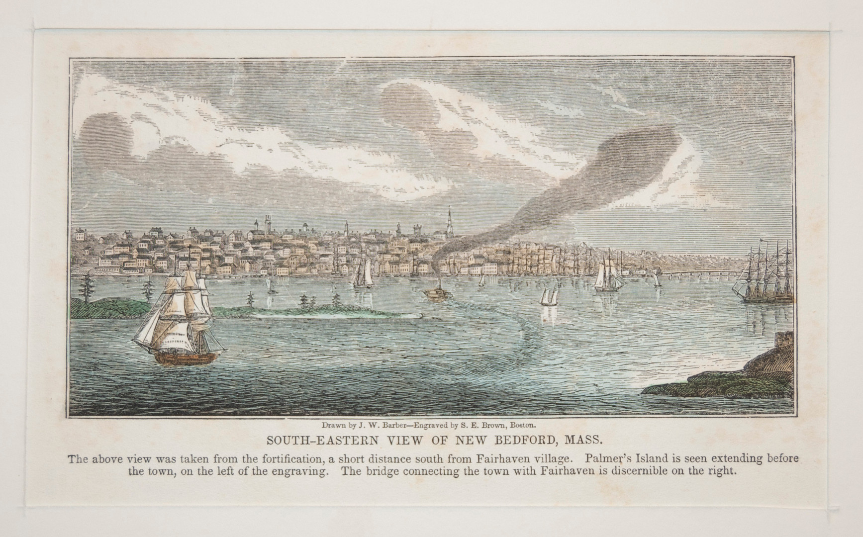 South-Eastern View of New Bedford, MA