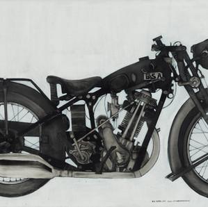 1930 BSA Sloper