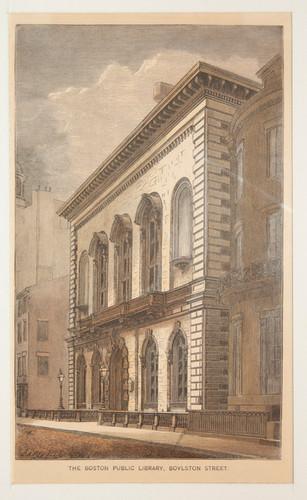 Boston Public Library, Boylston Street
