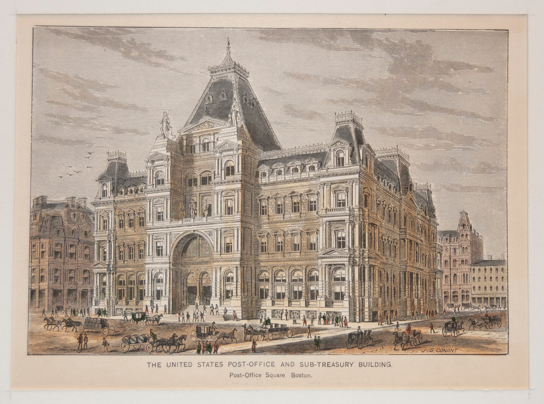 Post Office and Sub-Treasury Building, B