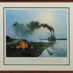 Rafting on the Missouri