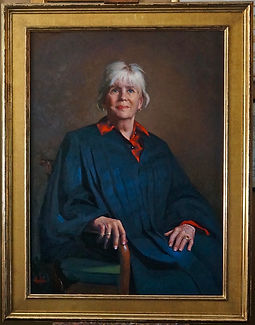 Portrait of Judge Skoglund