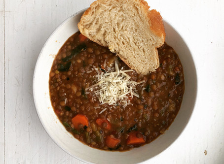 Copycat Amy's Lentil Vegetable Soup