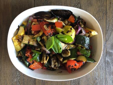 Summer Grilled Vegetable Salad
