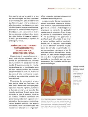 Balões volumétricos utilizados para a análise dos pigmentos - Acervo particular do autor