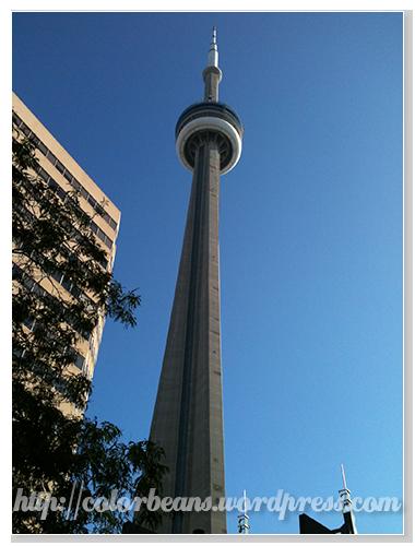 Toronto地標 CN Tower