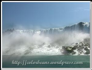 越來越靠近Bridal Veil Falls啦~ :D