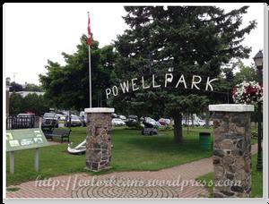 Port Dover市區的小公園 Powell Park