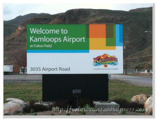 歡迎來到Kamloops Airport!