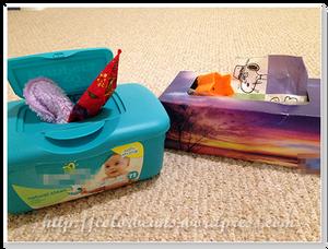 面紙盒和濕紙巾盒的抽抽樂