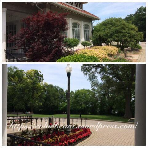 Banquet Center後面的小花園