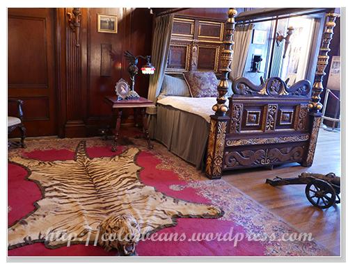 這麼氣派的大老虎就是爵士的房間啦~