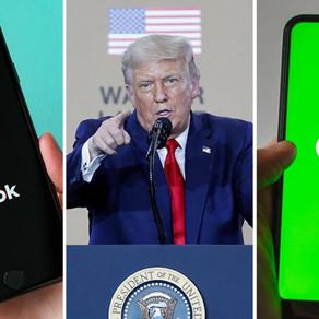 美国下令封禁微信和TikTok,微信禁令周日生效(欢迎北美商家和自媒体参加研讨,届时我们分享一套已经测试4个月的行之有效的方法)