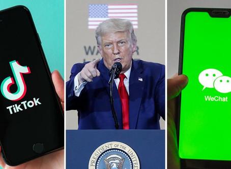 美国下令封禁微信和TikTok,微信禁令周日生效