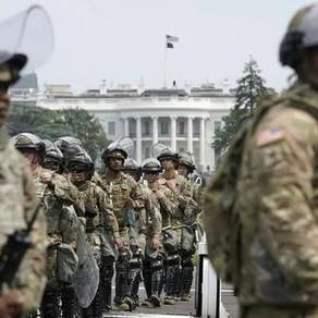 美国分裂!2万大兵挺进华盛顿!推特反思封杀特朗普!女议员要弹劾拜登!