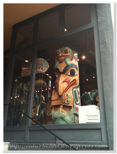 Gastown先住民風格的藝術品