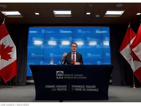 加央行行长:不排除负利率,房价高涨也不会改变央行方向