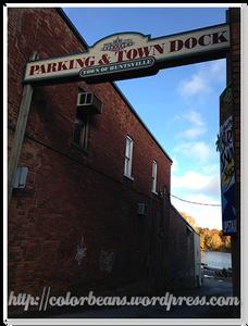 Huntsville Town Dock往這走