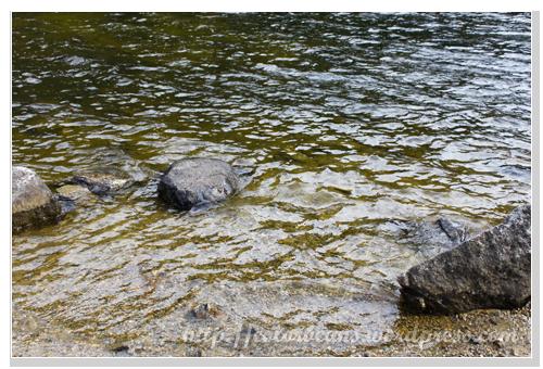 Lower Dewey Lake清澈的湖水