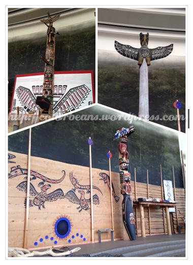 Canadian Museum of History大廳就有先住民的展覽